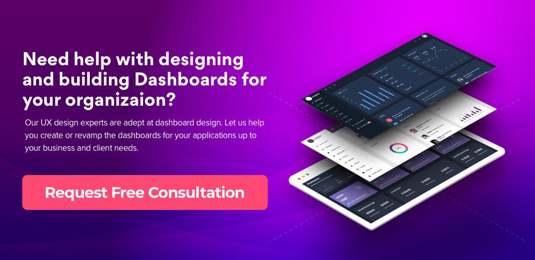 Request Free Consultation for dashboard design
