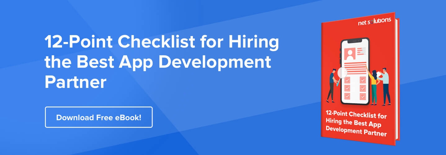 eBook 12 Point Checklist for Hiring the Best App Development Partner