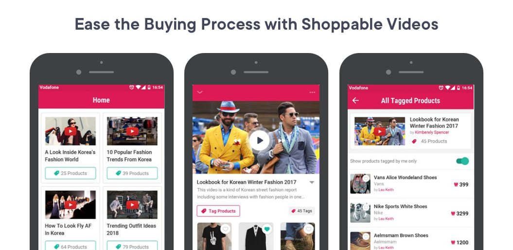 Ease Buying Process with Shoppable Videos