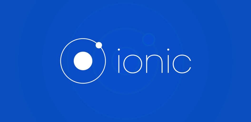 Ionic cross-platform framework