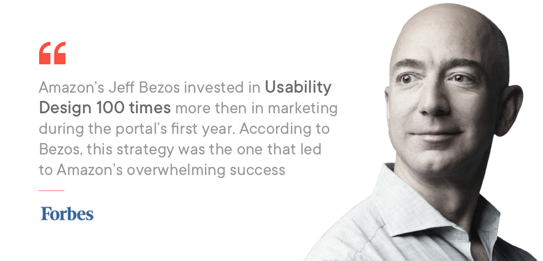Jeff Bezos on importance of usability testing