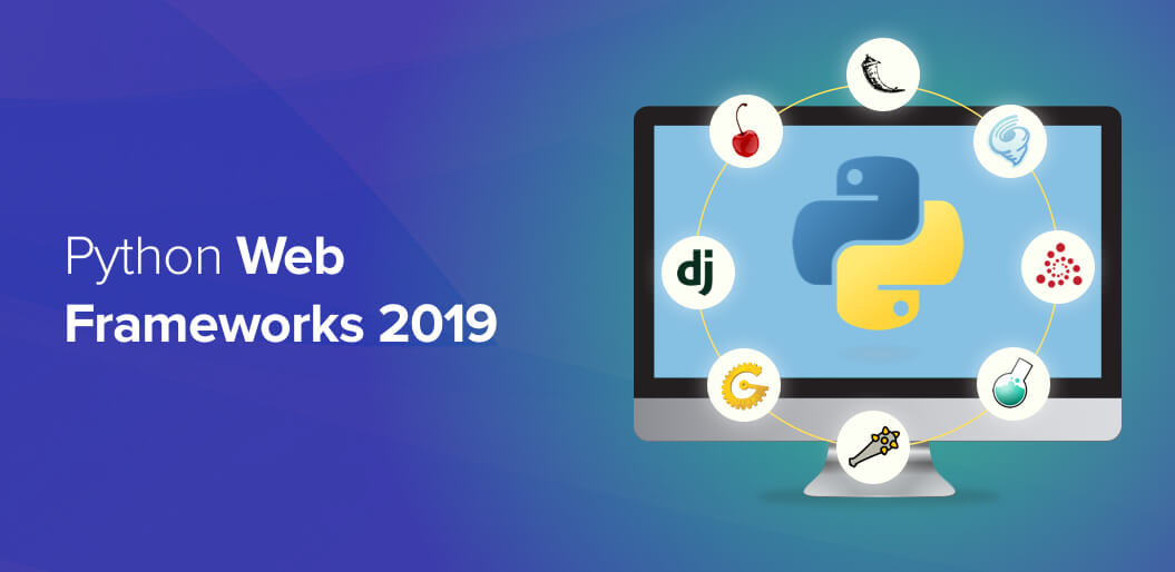 Python web framework 2019
