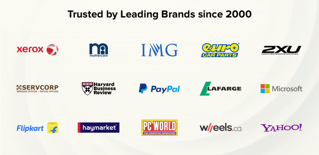 Trusted by Leading Brands