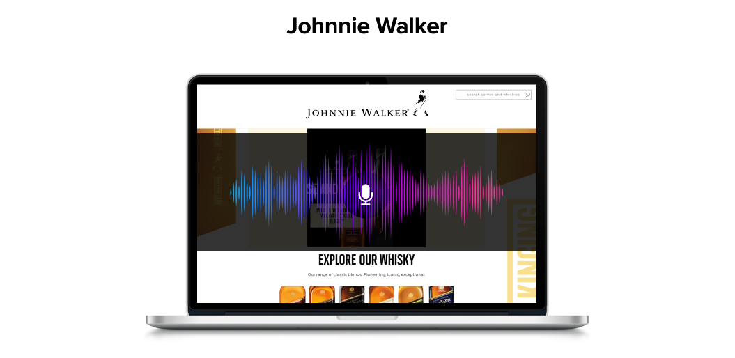 Johny Walker uses voice technology to Boost Engagement