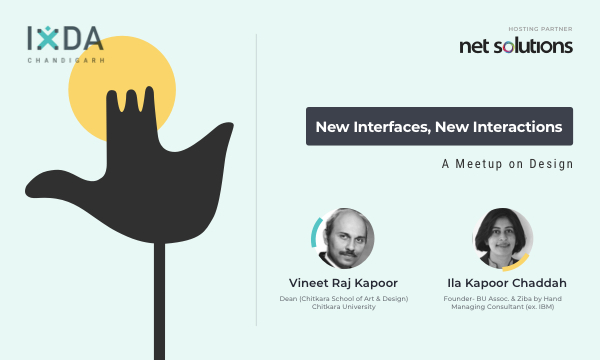 IxDA Chandigarh Design Meetup with Vineet and Ila