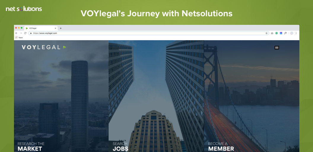 VOYlegal's Journey with Netsolutions