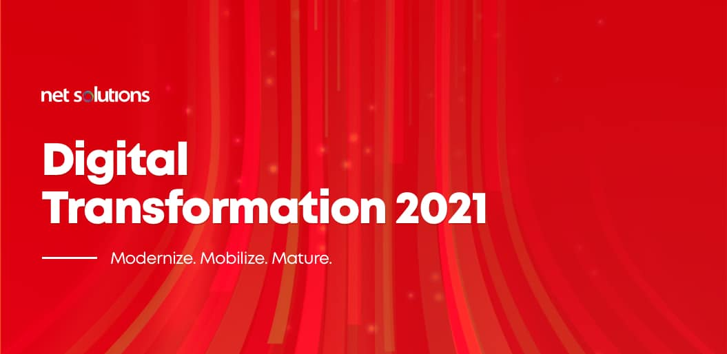 8 Digital Transformation Trends 2020 higlighted in the Net Solutions Survey