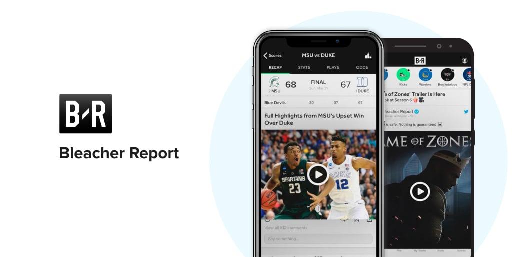 Bleacher Report sports app