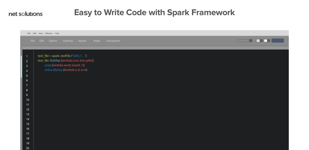 Easy coding with spark framework