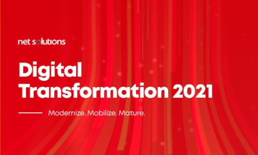 Eight Digital Transformation Trends 2020 found in the Net Solutions Survey