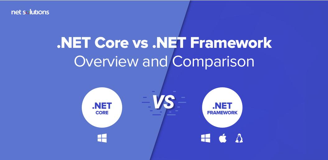 .NET Core vs .NET Framework: Overview and Comparison