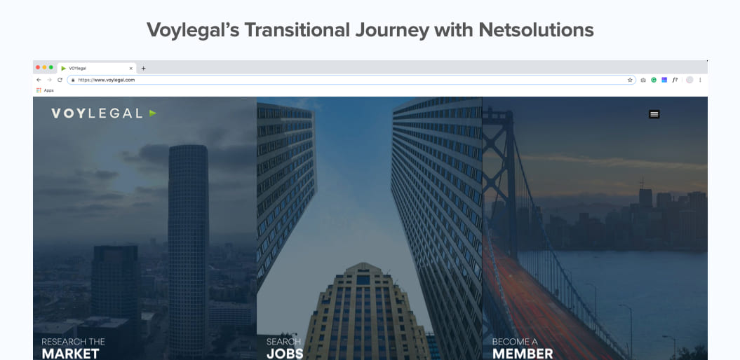 VoyLegal Laravel Journey with Net Solutions