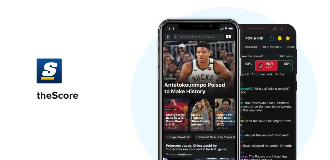 theScore Sports App