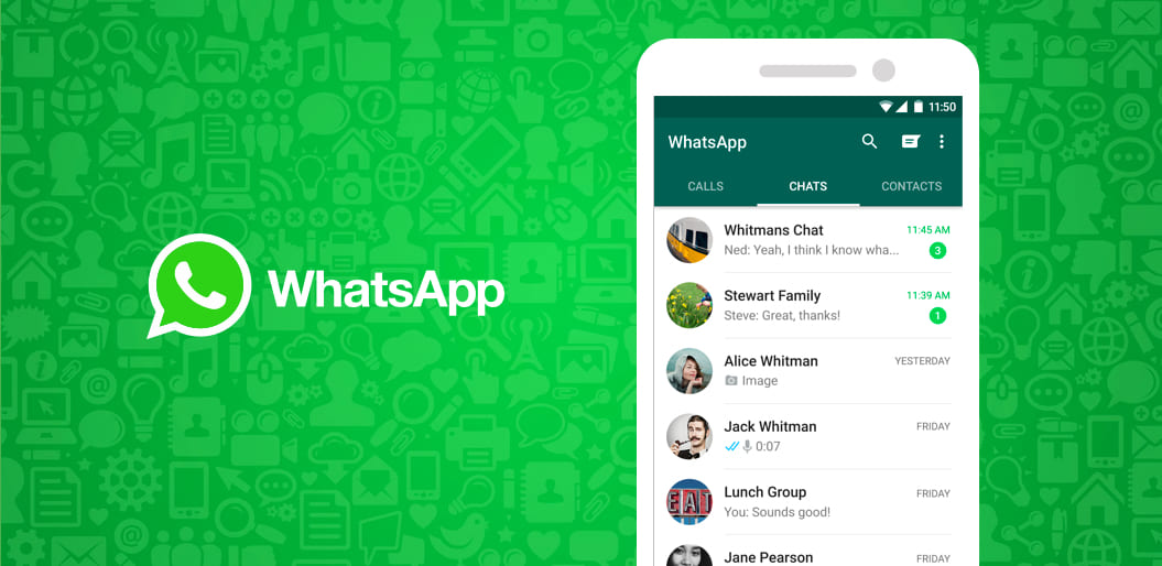 whatsapp, one of the top popular apps