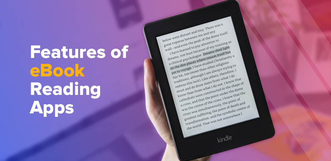 Features of ebook reading apps
