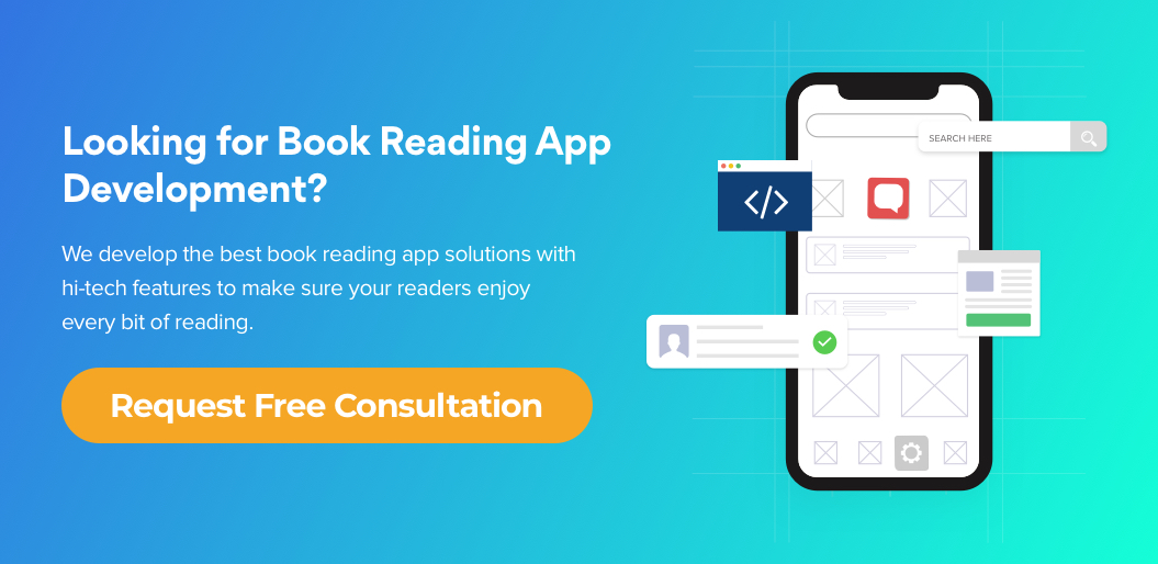 Contact Net Solutions for eBook reader app development