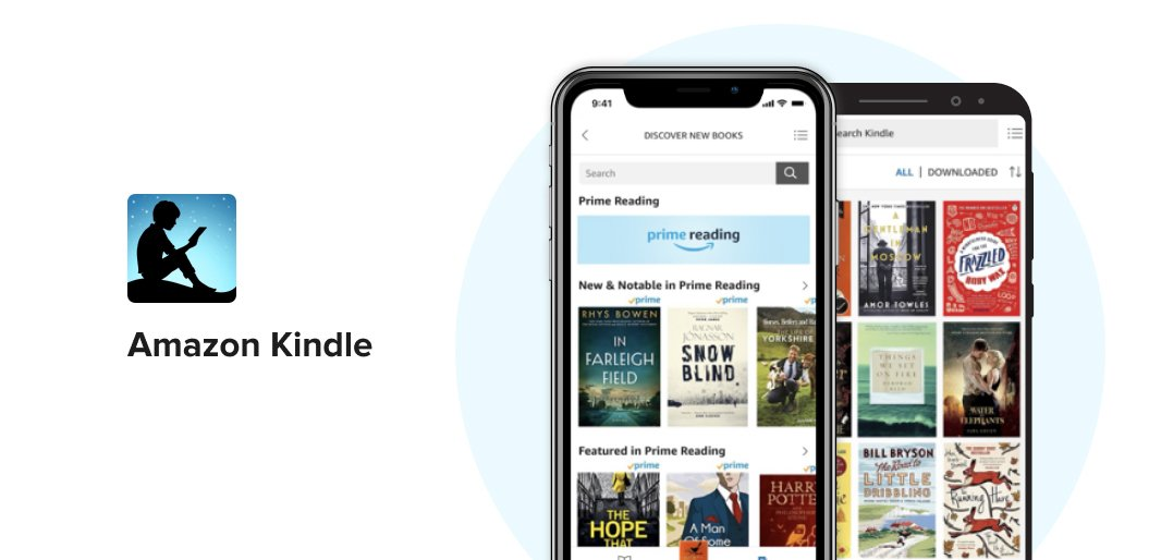 Amazon Kindle book reading app