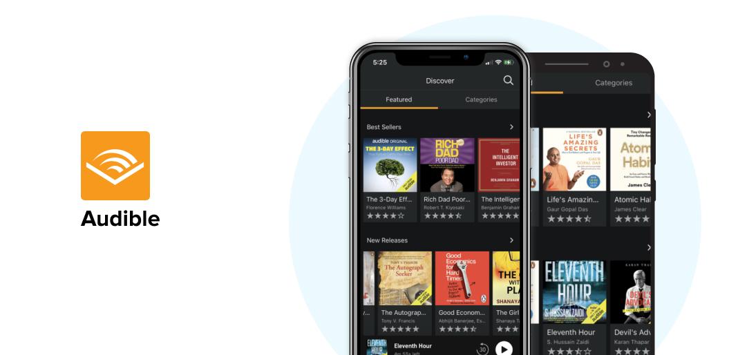 Audible audiobook app
