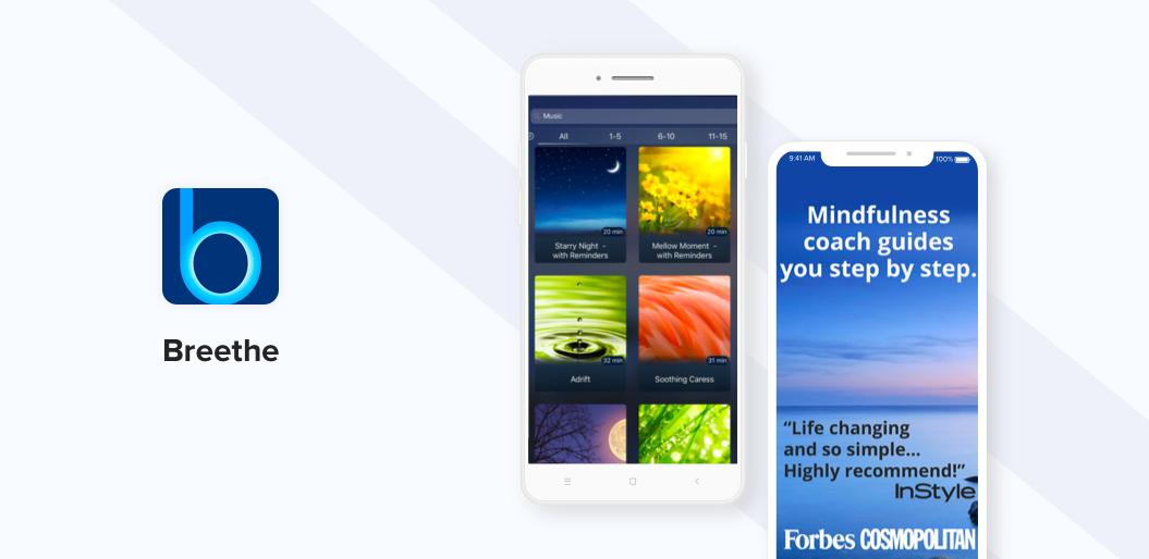 Best Meditation Apps - Breethe