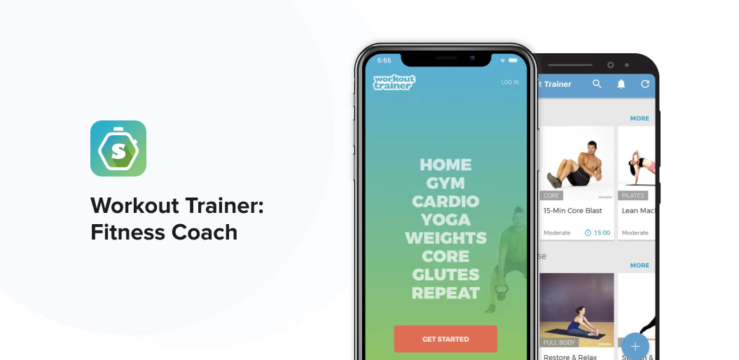 Fitness coach HIIT app