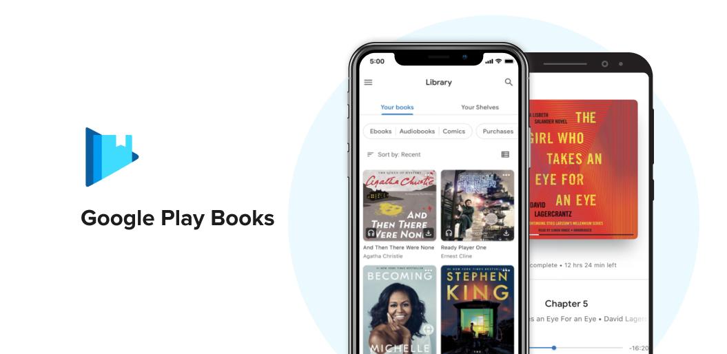 Google play books reading app