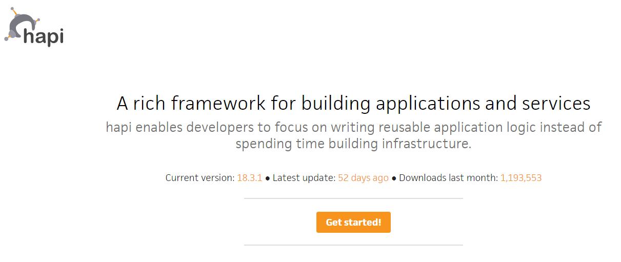 Hapi.js framework