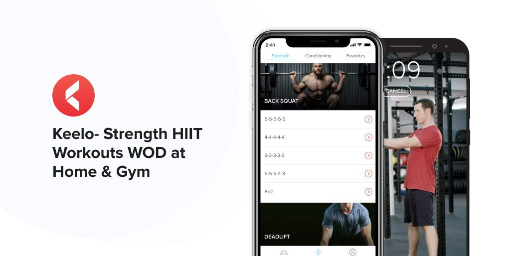 Keelo Strength HIIT Workout app