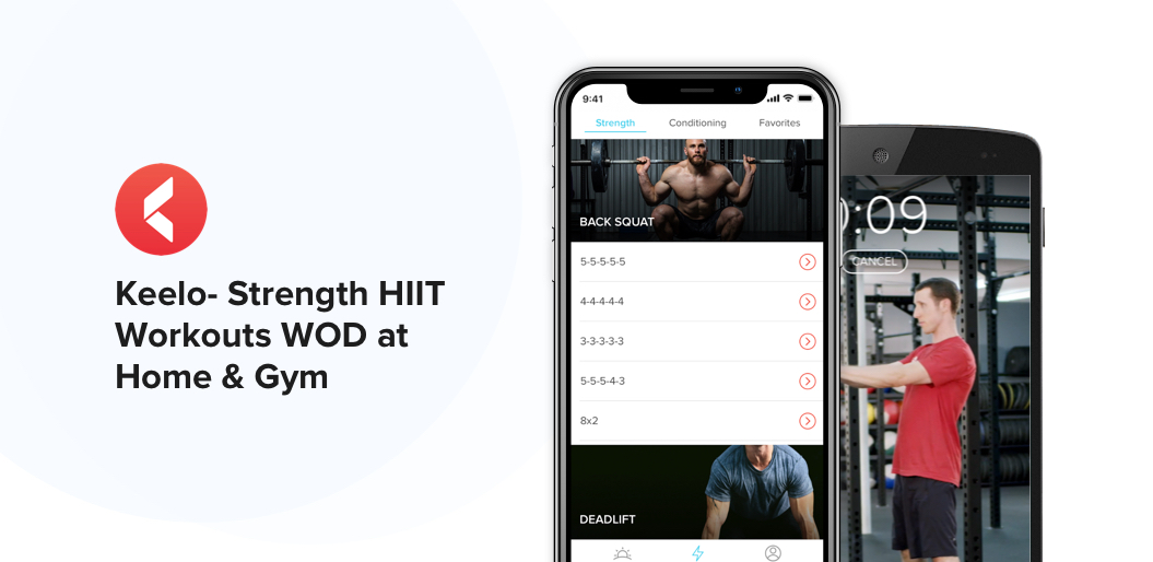 Keelo- Strength HIIT Workouts WOD at Home & Gym