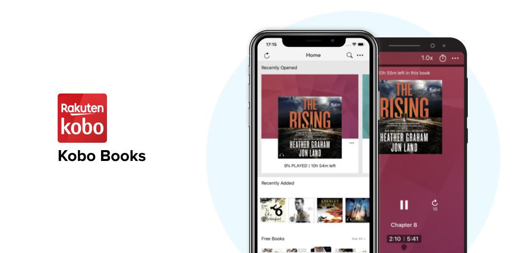Kobo Books reading app