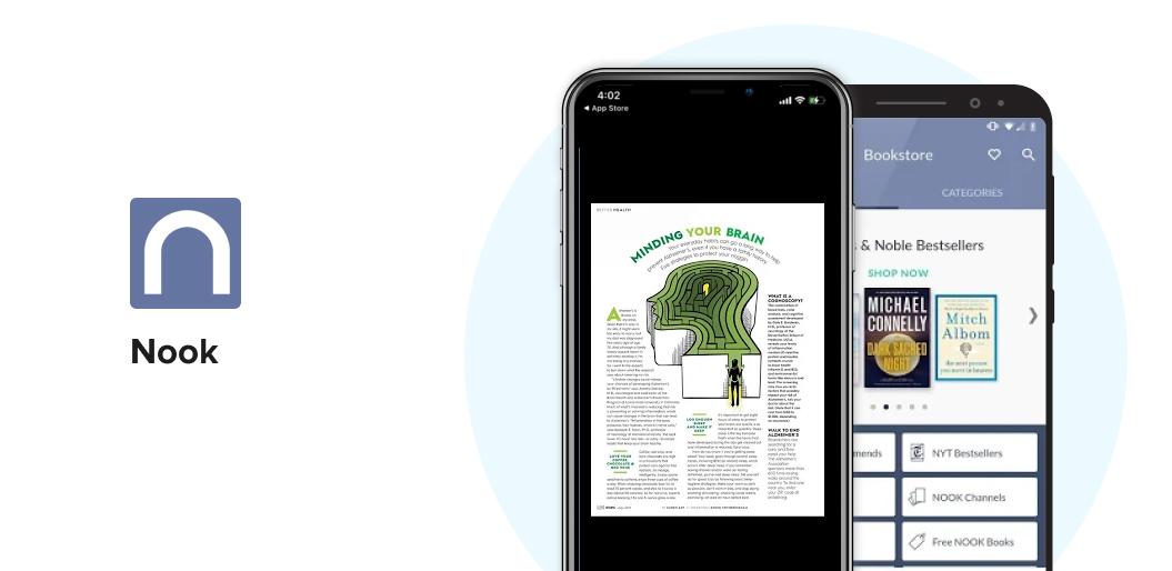 Nook book reading app