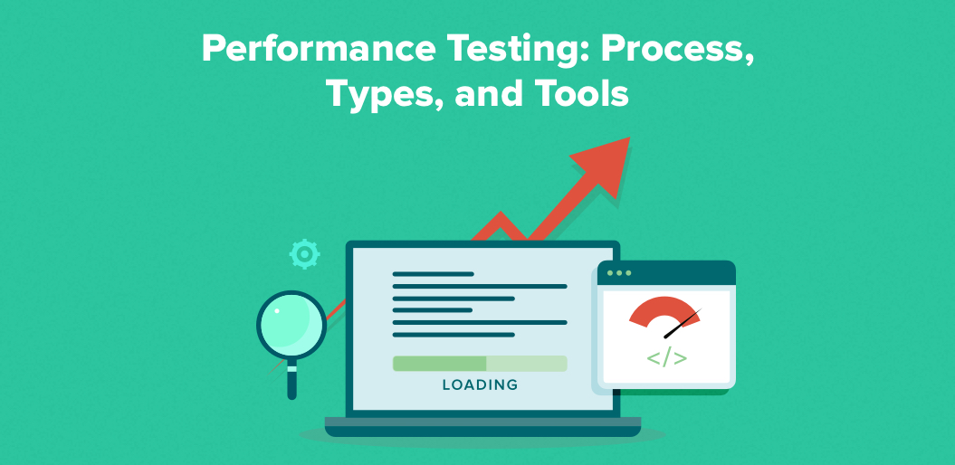Performance testing process, types, and tools