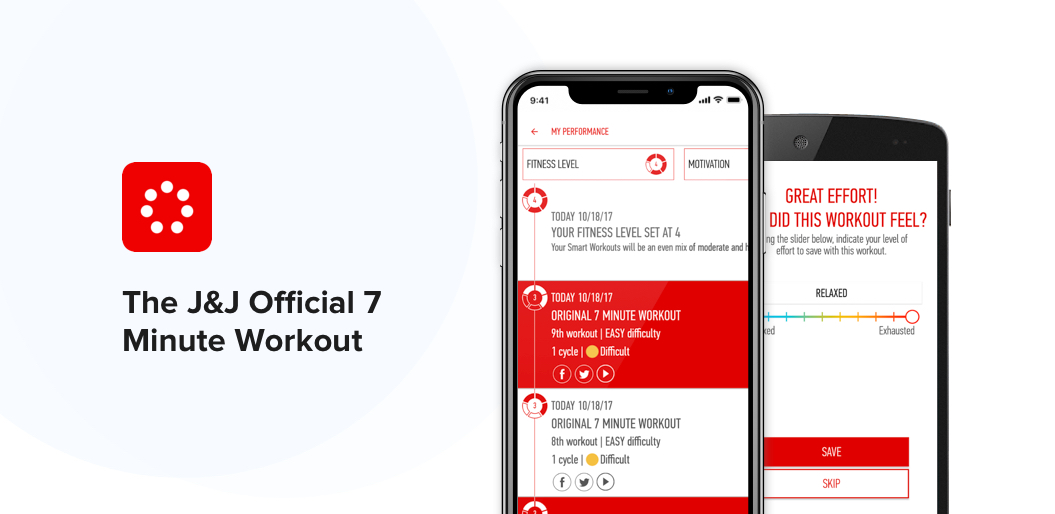 The J&J Official 7 Minute Workout