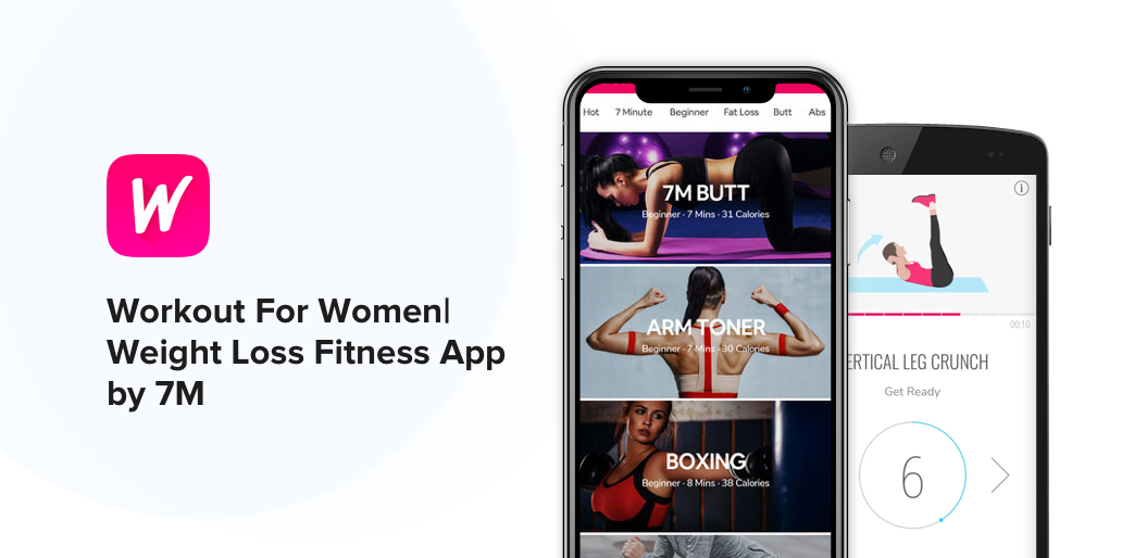 Workout For Women_Weight Loss Fitness App by 7M