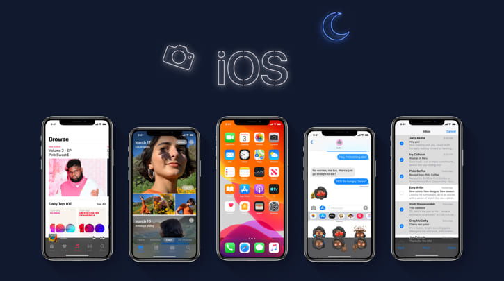 WWDC 2019 iOS Dark Mode