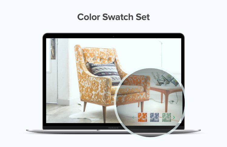 Color Swatch Set in  Dynamic media