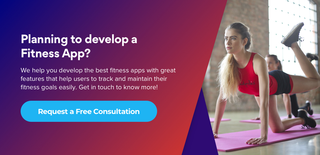 Contact Net Solutions for fitness app development
