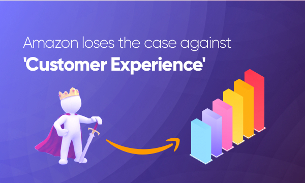 Customer experience wins over Amazon