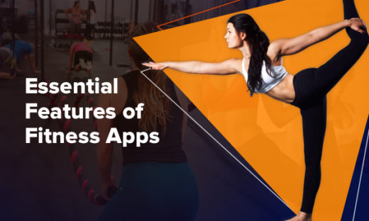 Key features of fitness app