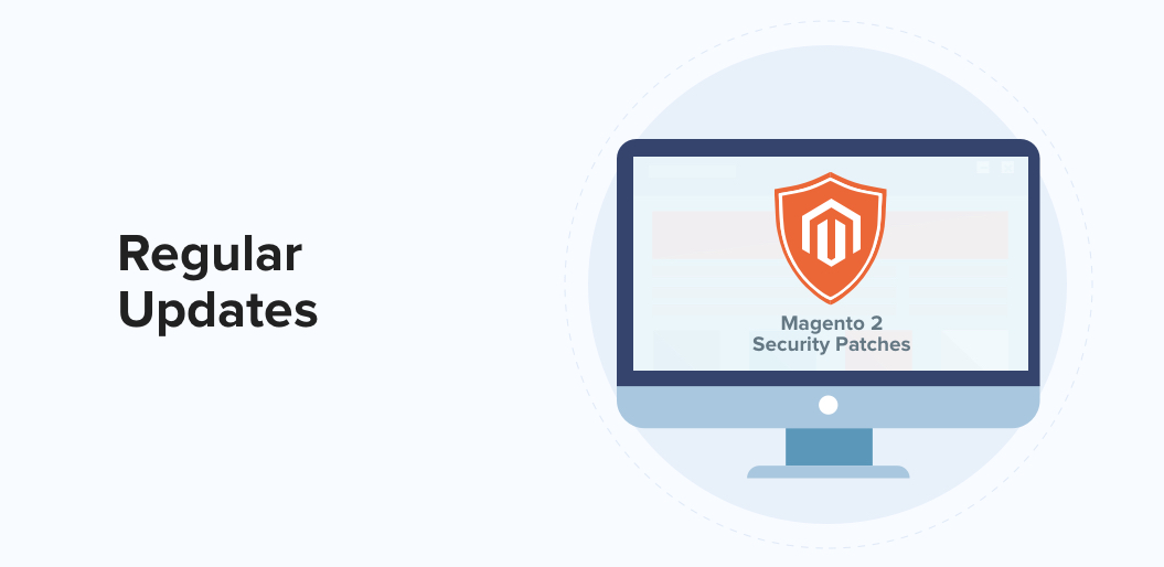 Regular Updates to Secure your eCommerce Store with Magento 2