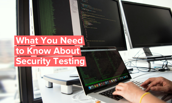 All about security testing