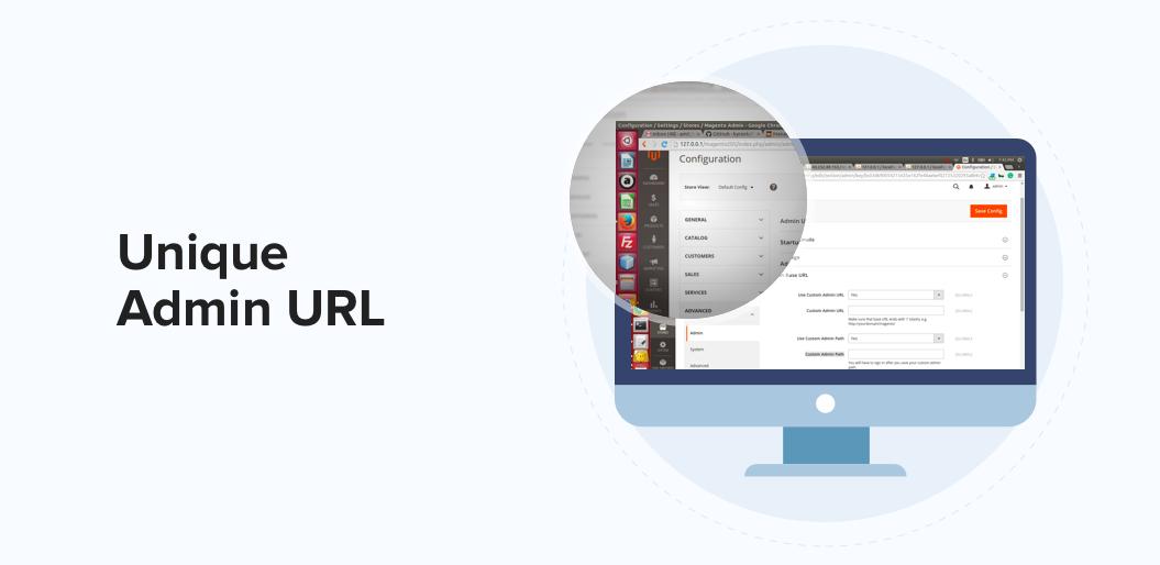 Unique Admin URL