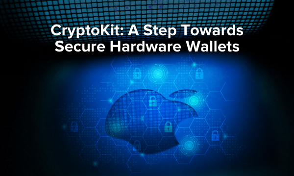 Cryptokit: A step towards secure hardware wallet