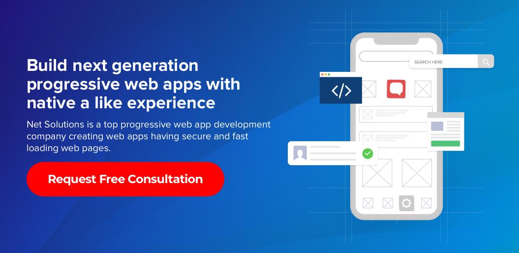Contact net solutions to build a progressive web app