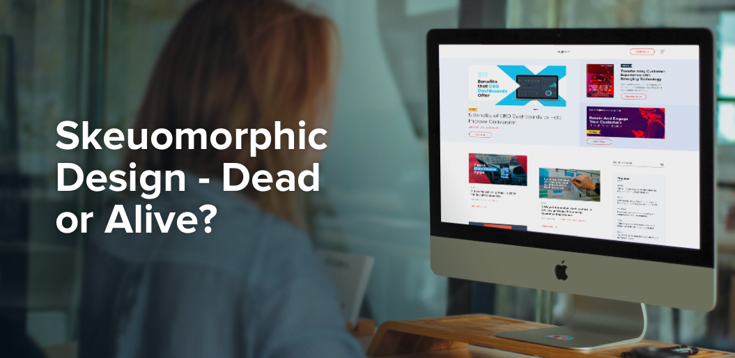 Is Skeuomorphic Design Dead