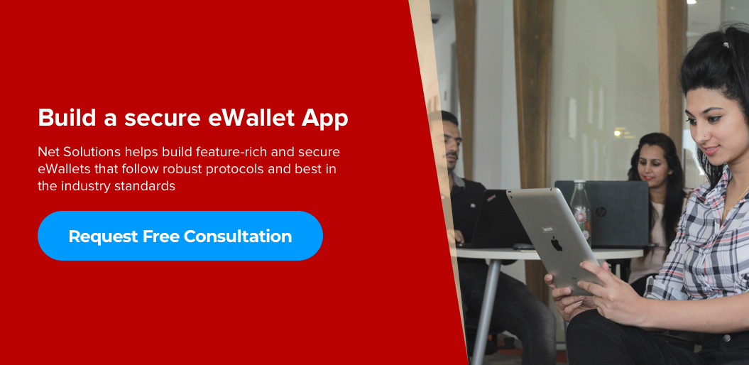 request free quote to build a secure eWallet app