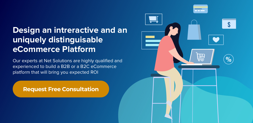 Design an interactive and a uniquely distinguishable eCommerce Platform