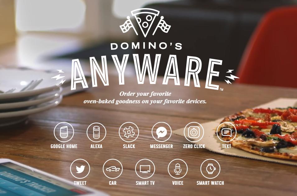 Domino's anyware digital platform