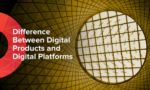 how digital platforms and products differ from each other