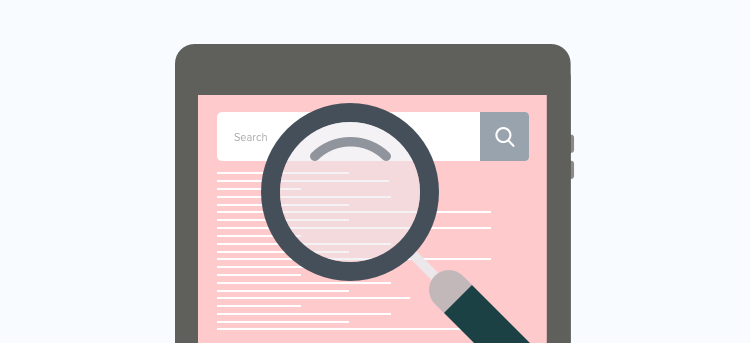 Importance of including a search bar in ecommerce website