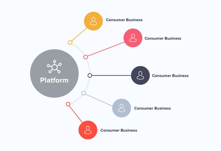 How a platform based circular model works in case of a platform